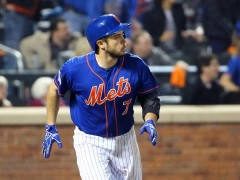 D'Arnaud Crushes One In Huge Night At The Plate