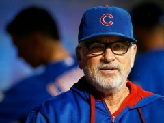 Joe Maddon Named NL Manager of the Year