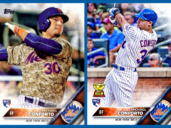 Topps 2016 Baseball Cards Series 1: Meet The Mets!