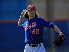 DeGrom Returns To Mound, Throws Strong Bullpen