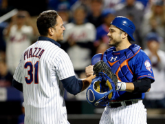 Travis d'Arnaud Looking Forward To Working With Mike Piazza Again