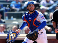 D'Arnaud to DH for Las Vegas Tonight, Will Catch Saturday & Sunday