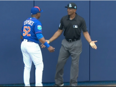 Collins Defends Cespedes On Misplay In Center Field