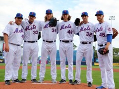 Will Mets Fab Five Ever Pitch Together In Starting Rotation?