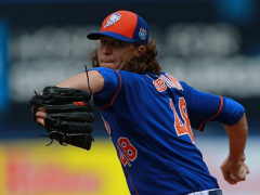 DeGrom Not Worried About Decreased Velocity