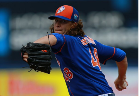 Image result for jacob degrom 2017 spring
