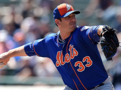 Matt Harvey Struggled With Command In Spring Outing