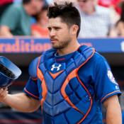 Travis d'Arnaud's Issues Throwing the Ball Continue