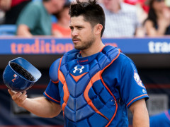 D'Arnaud Heads To Disabled List With Rotator Cuff Strain