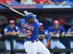 Cespedes Leaves Game After Being Hit By Pitch On Right Hand