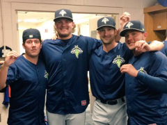Three Pitchers Combine On No-Hitter For Columbia Fireflies!