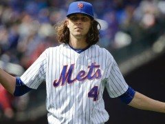 Jacob deGrom Struggled With Control Issues