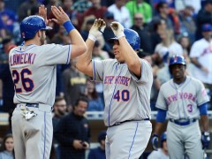 Mets Erupt With Four Homers; Defeat Padres 6-3