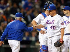 Mets Fall To Nationals 7-1 As Pitching Loses All Control