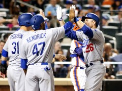 Dodgers Pummel Mets Bullpen After Syndergaard Ejection; Win 9-1