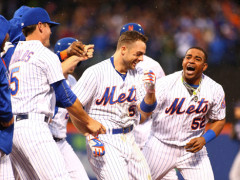 O CAPTAIN, MY CAPTAIN! Mets Beat Brewers On Walk-Off From Wright!