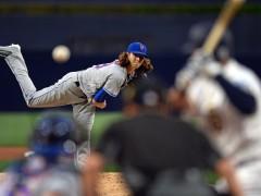 DeGrom Cites Mechanical Issue For Poor Start Against Padres