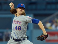 Jacob deGrom Battled Through Seven Innings