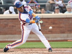 Juan Lagares Homers In Back to Back Games
