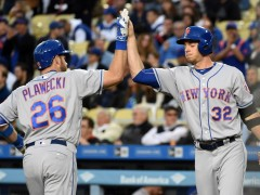 Plawecki Homers, Has Raised His Average 50 Points On This Road Trip