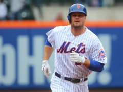 Lucas Duda Out Of Lineup With Back Issue