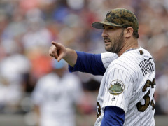 "Matt Harvey Takes ""First Step"" In The Right Direction"