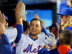 Matz, Conforto Lead Mets To Victory; Defeat Brewers 3-2
