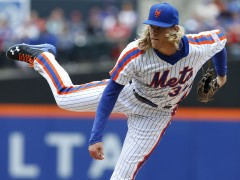 Noah Syndergaard Named NL Player of the Week