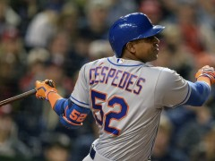 Cespedes Scratched With Sore Hip, Replaced By Conforto