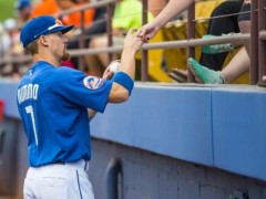 Brandon Nimmo Named PCL Player of the Week