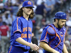 Jacob deGrom Tosses Eight Scoreless In No-Decision