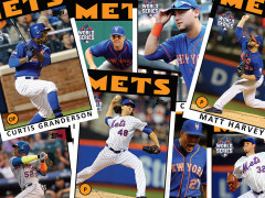Topps Release 2016 First Pitch Citi Field Celebrity Cards