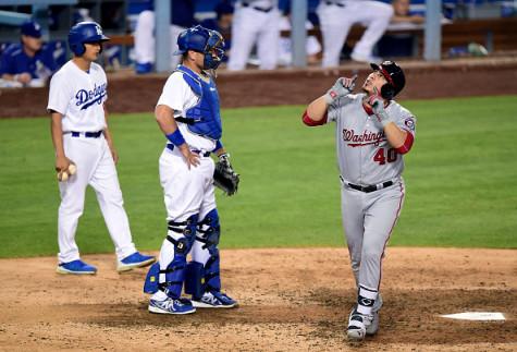 at Dodger Stadium on June 22, 2016 in Los Angeles, California.