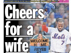 Reyes Receives Cheers From Fans, Jeers From Media and Talking Heads
