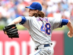 DeGrom Fires A One-Hit Shutout As Mets Defeat Phillies 5-0