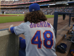 Was Jacob deGrom Pitching Hurt Prior to September 1?