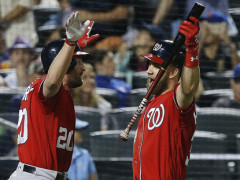 Murphy and Scherzer Fuel Nationals 6-1 Victory Over Mets
