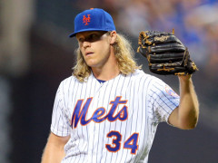 Noah Syndergaard Meet and Greet At Modell's