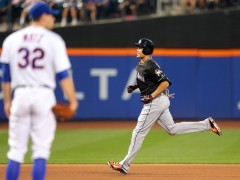 Stanton Homers Twice As Marlins Defeat Mets 5-2