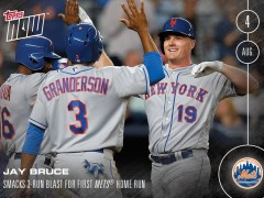 Topps Now: Win A Free Jay Bruce or Bartolo Colon Limited Edition Card