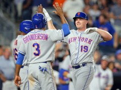 Bruce Powers Mets to 4-1 Win Over Yankees