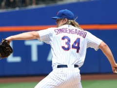 Syndergaard's Struggles Continue As Sky Begins To Fall