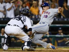Jay Bruce Was Inches Away From Plating A Late Inning Rally