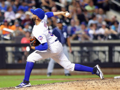 Ynoa Pitches Perfect Inning, Earns Win In Big League Debut