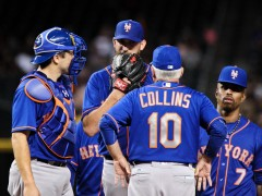 Niese Fizzles Out In D'Backs Win, Draws Praise From Collins