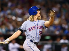 Syndergaard Notches 10th Win and 3rd Homer In Victory