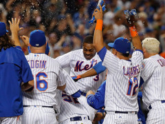 THE GRANDY MAN CAN! Granderson Homers Twice In Extras To Win It For Mets!