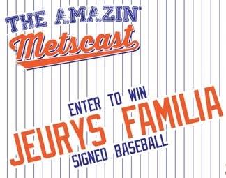 Amazin' Metscast Contest: Win a Jeurys Familia Signed Baseball