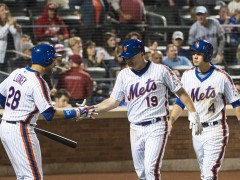 Lugo Shuts Down Nationals As Mets Win 5-1 to Take Series
