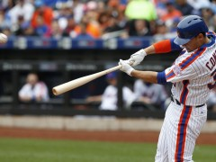 Michael Conforto: Potential First Baseman?